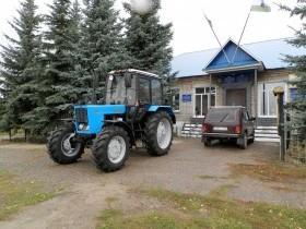 26 сентября 2018 г. в сельском поселении Семенкинский сельсовет ознаменовался завершением всех этапов долгого пути участия в Программе поддержки местных инициатив с  проектом приобретения трактора МТЗ- 82.1.
