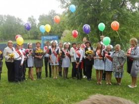 Традиционно в конце мая выпускники прощаются со школой.